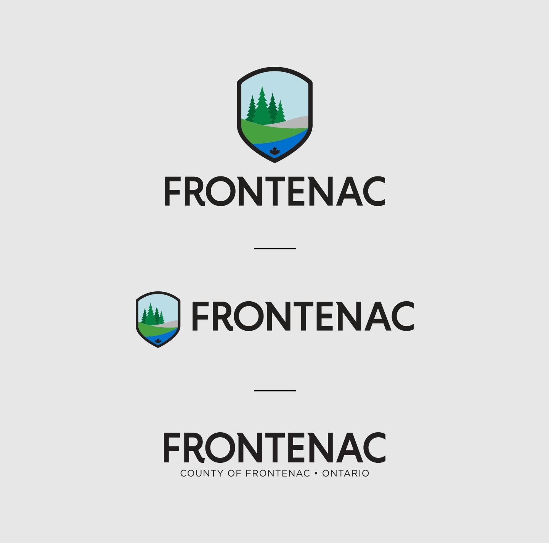 frontenac-logo-versions