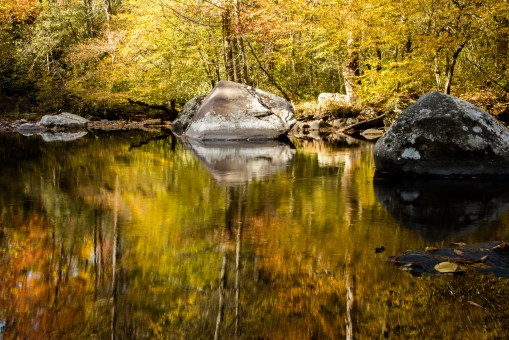 Smoky Mountain River Reflections