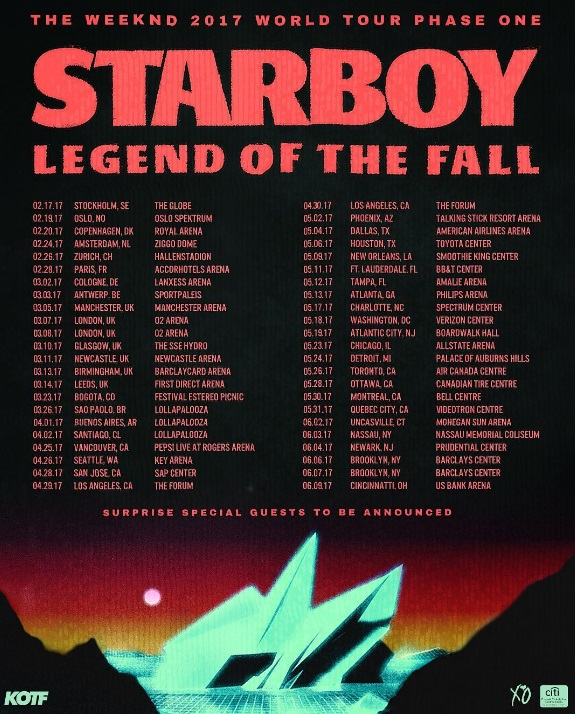 Legend of the fall tour dates