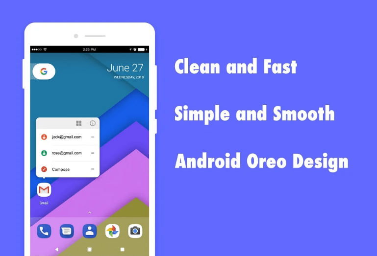 DC launcher clean and fast android launcher