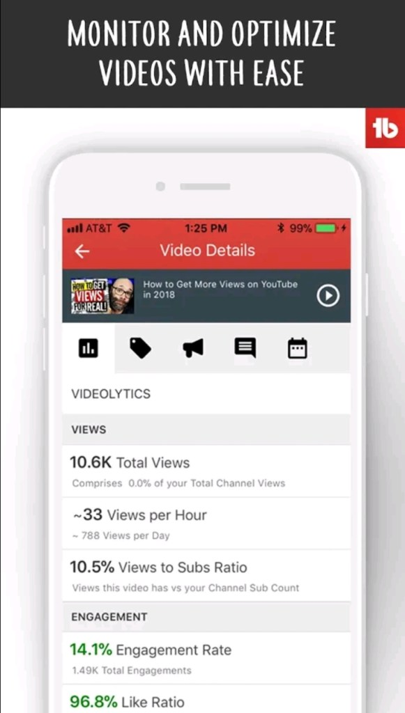 Tubebuddy best app for Youtubers