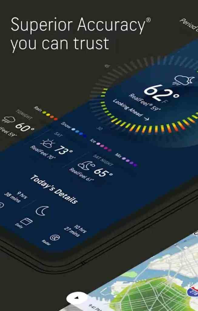 AccuWeather best weather app 2021