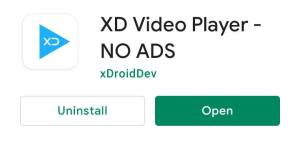 xd video player without ads