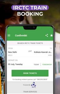 Confirm Tkt: IRCTC Ticket booking App