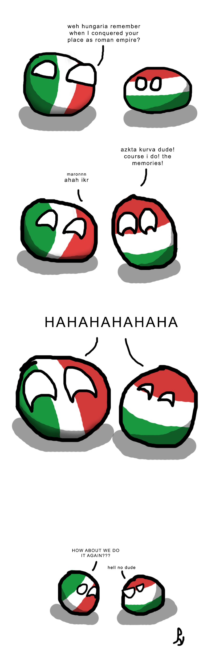 Countryball Poland Was Never Safe Worldball