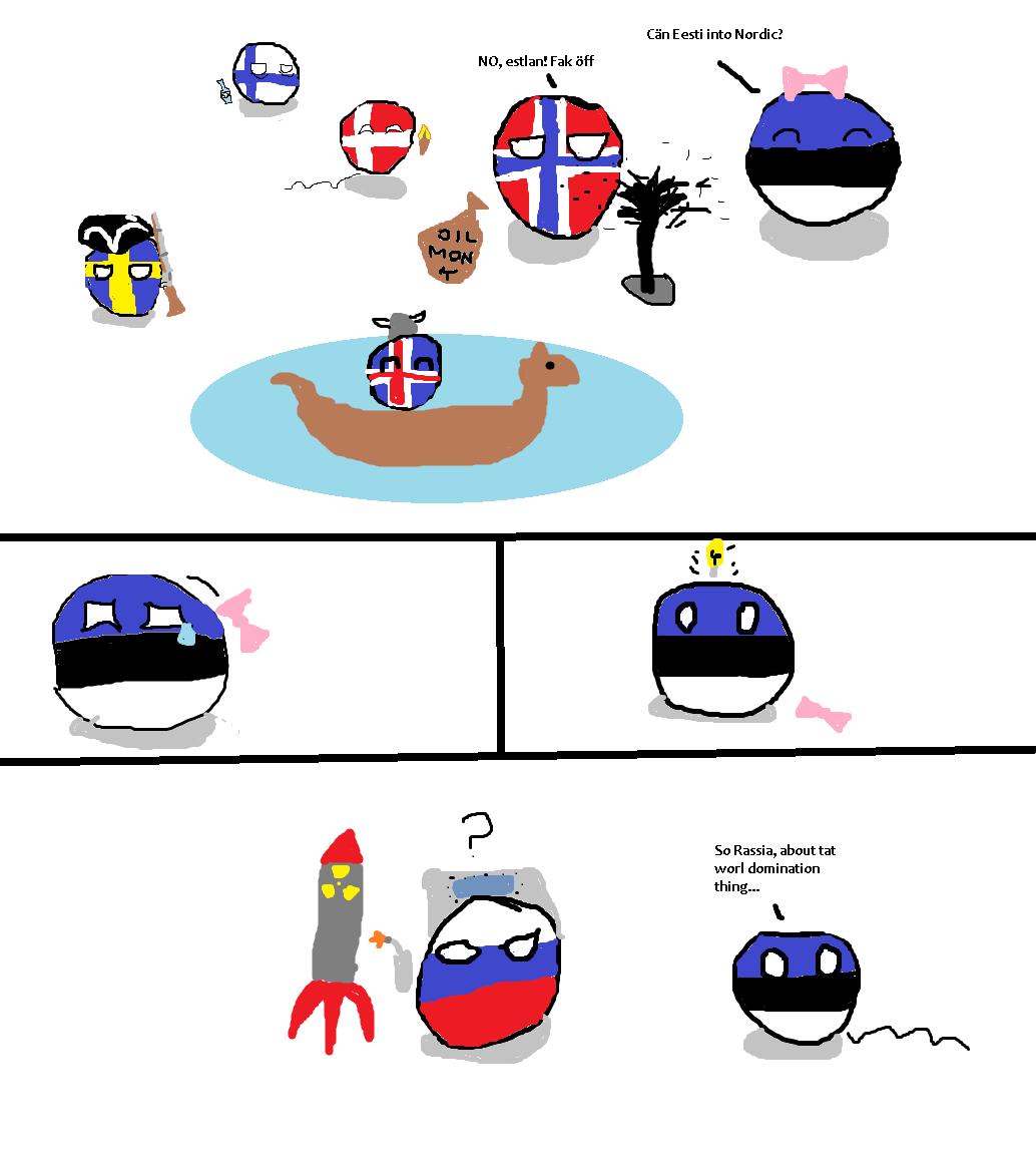 Polandball Comics Study Finnish