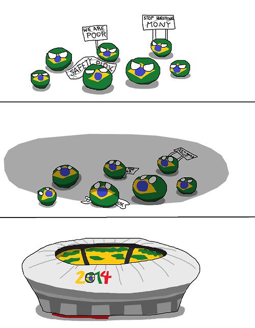 Polandball Brazil Is Appreciated Via Reddit