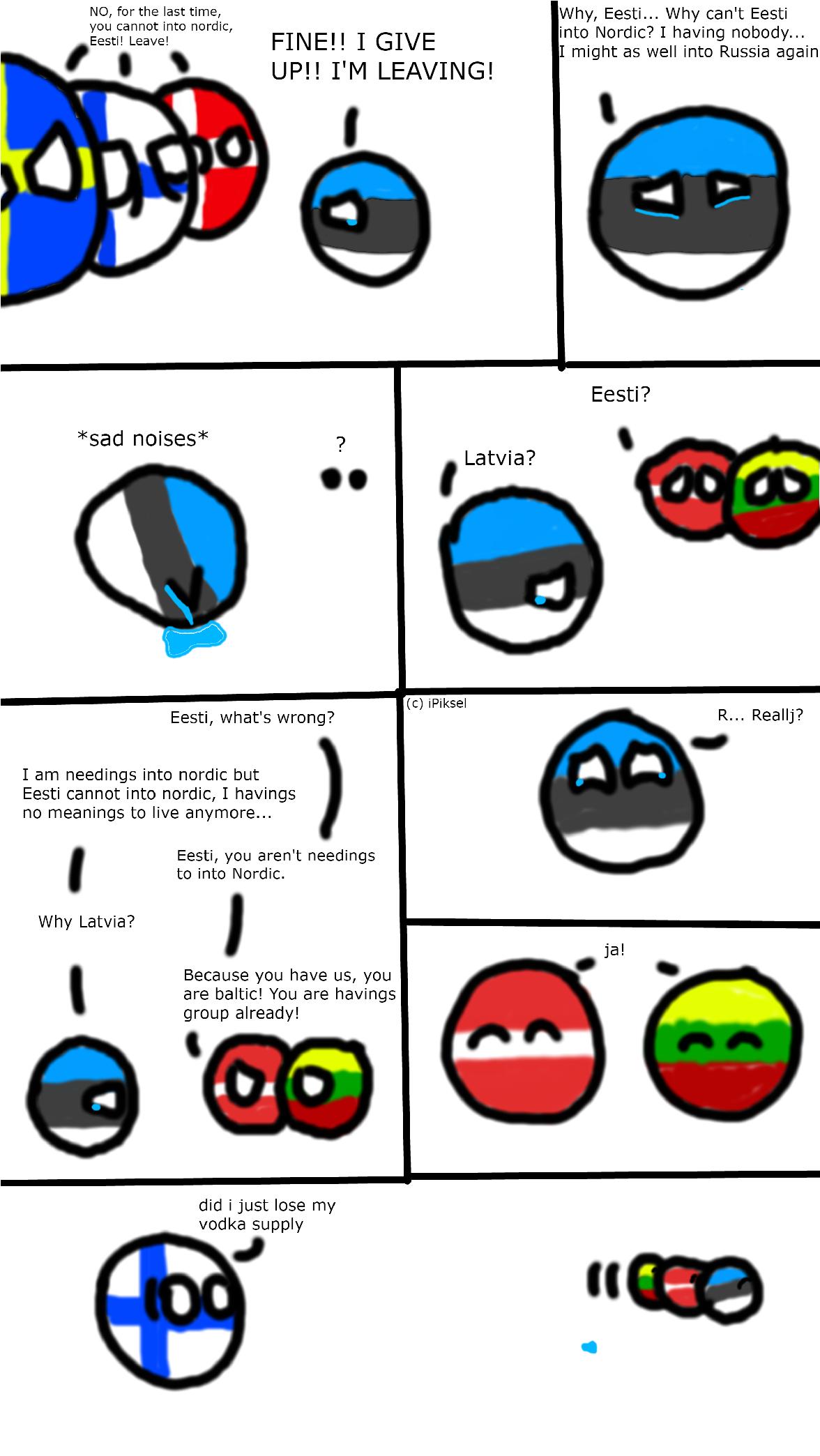 Countryballs Animated The Estonian Nightmare Youtube
