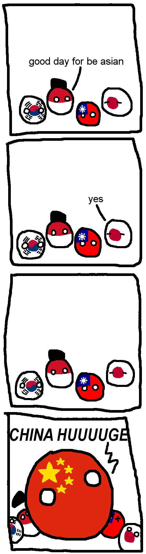 Polandball Asian Nations Characters Tv Tropes
