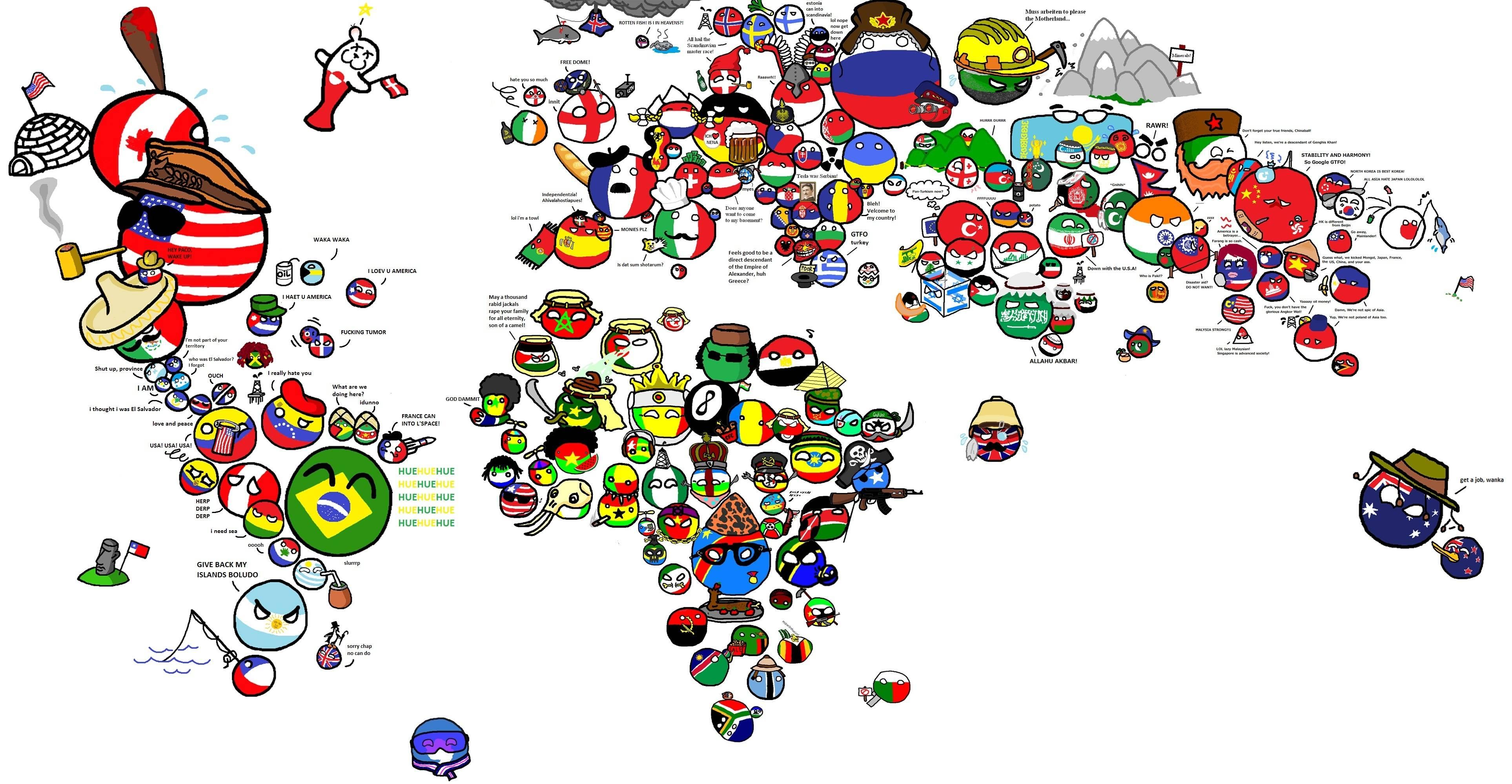 Countryballs World Cup Romaniaball 2017 Qualification Match Set