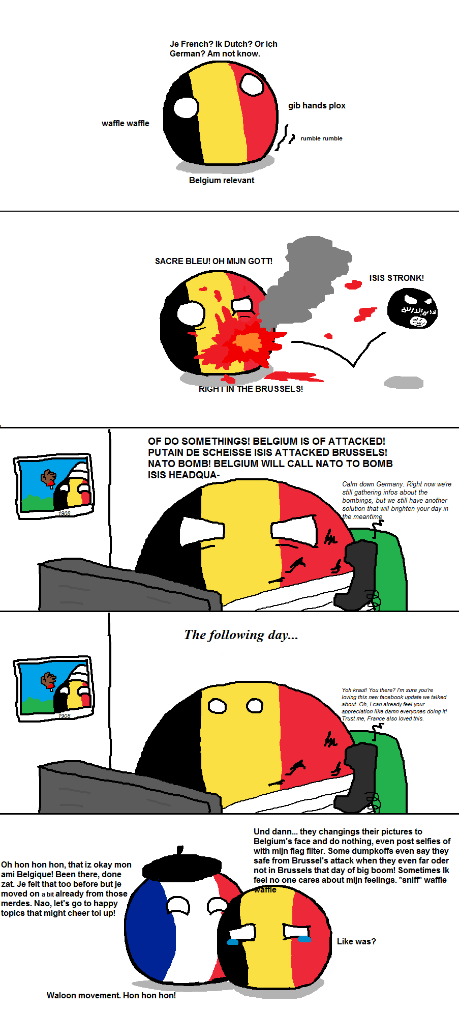 I Have A Question Can You Make A Countryball Picture