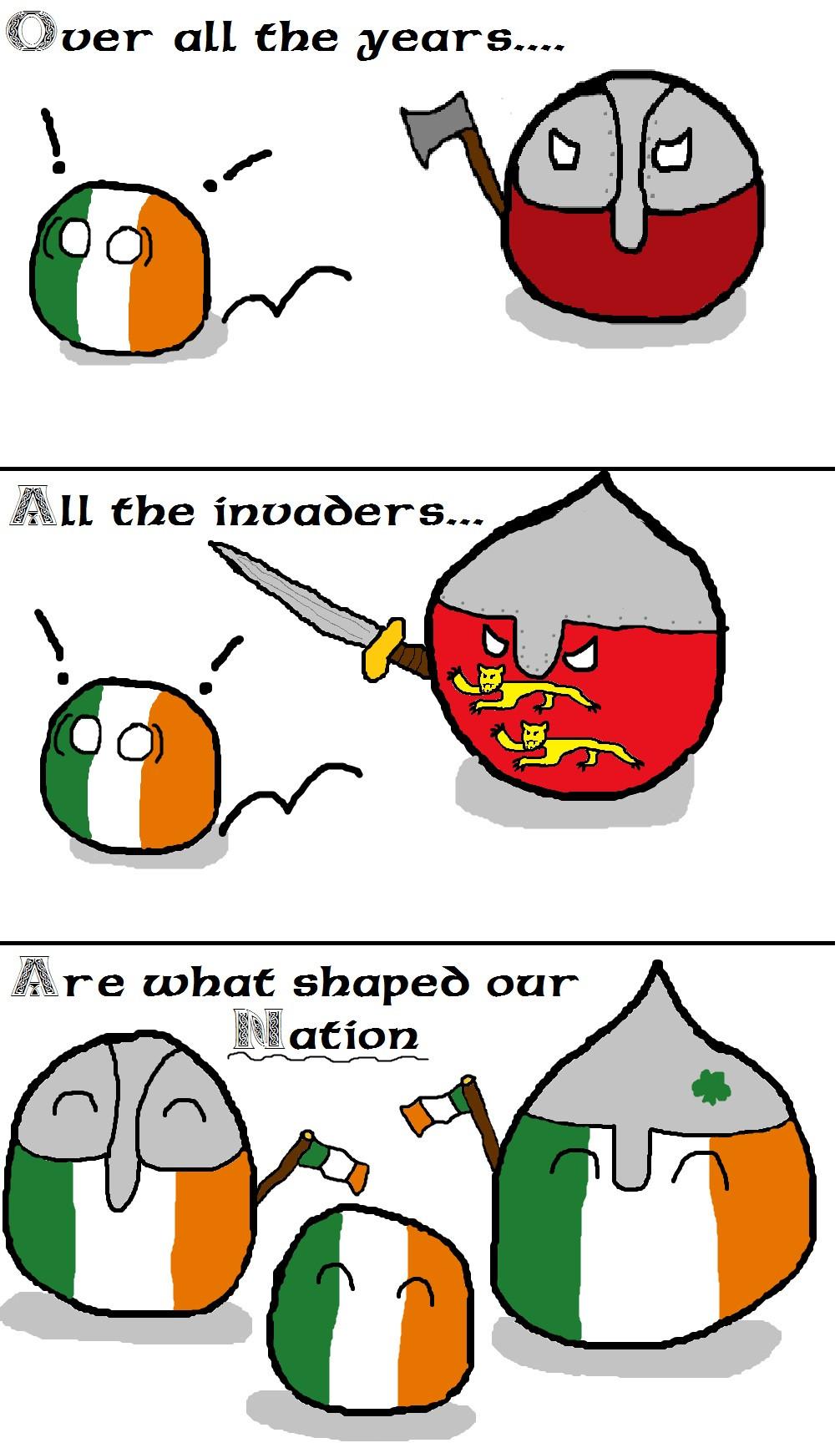 Irish Free Stateball Polandball Wiki Fandom