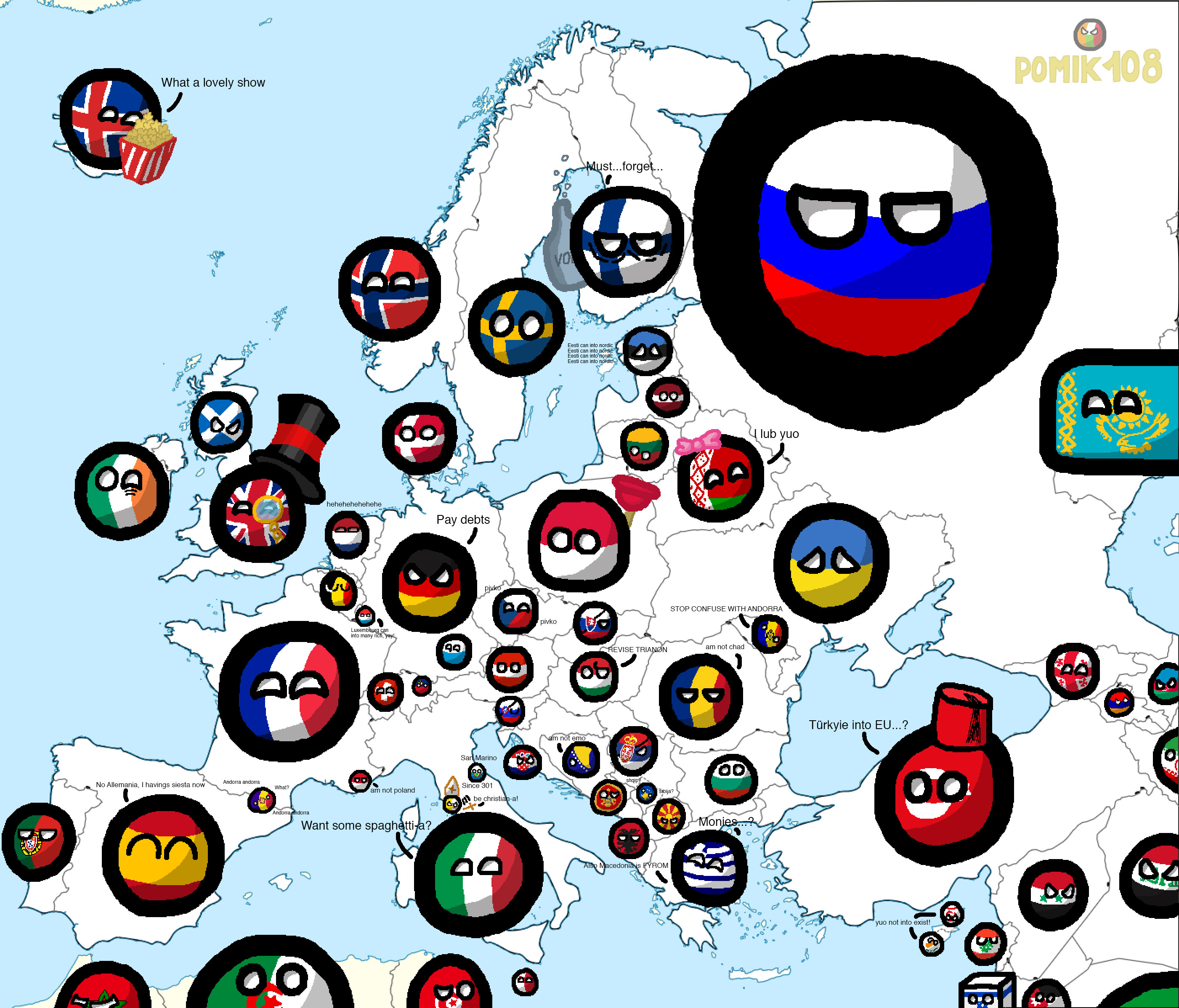 Sweden Is Of White Minority Polandball Know Your Meme