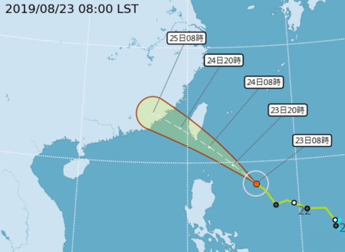 Taiwan issues land warnings for Tropical Storm Bailu in far south 1