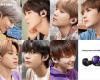 RM, Jin, Suga, J-Hope, Jimin, V, and Jungkook.