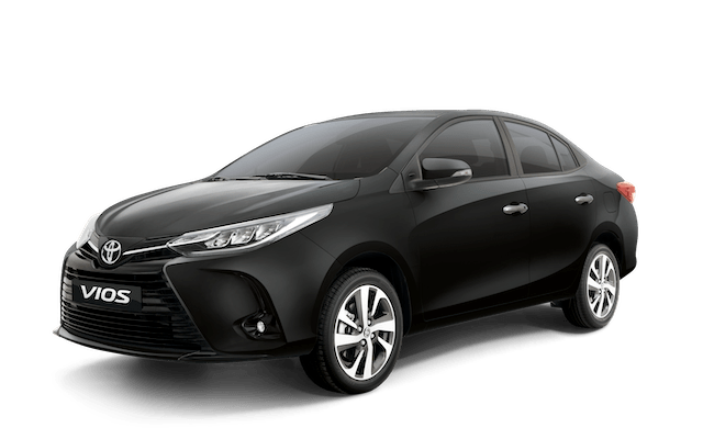 2020 Toyota Vios Black