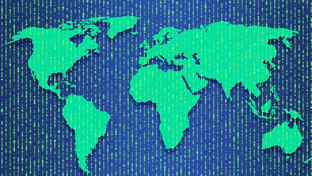 Cybersecurity Cyber Security World Map