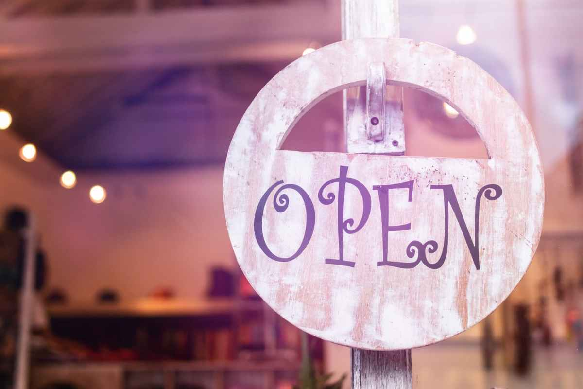 Open Sign for Businesses