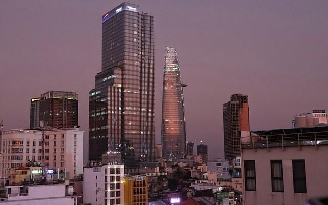Saigon Vietnam Skyline