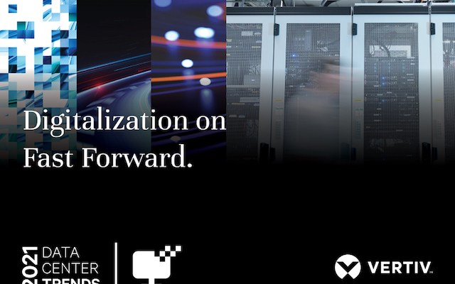 Vertiv Digitalization on Fast Forward