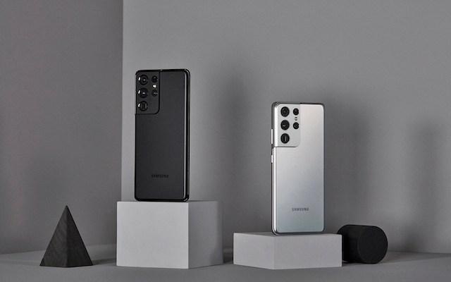 Samsung Galaxy S21 Ultra 5G Black Silver