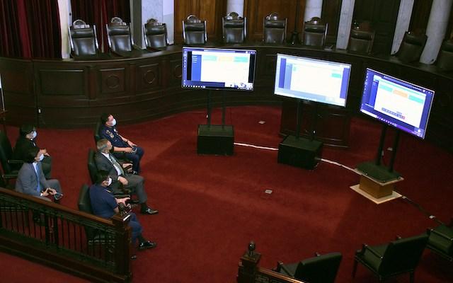 Philippine Court Virtual Hearings Microsoft