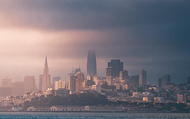 Skyline High Rise Buildings