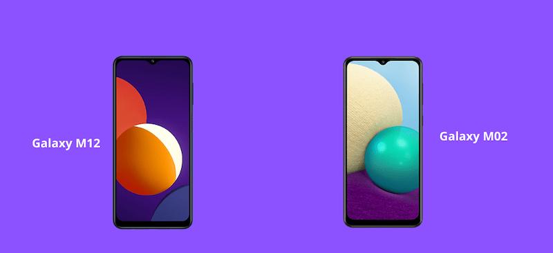Samsung Galaxy M12, Galaxy M02