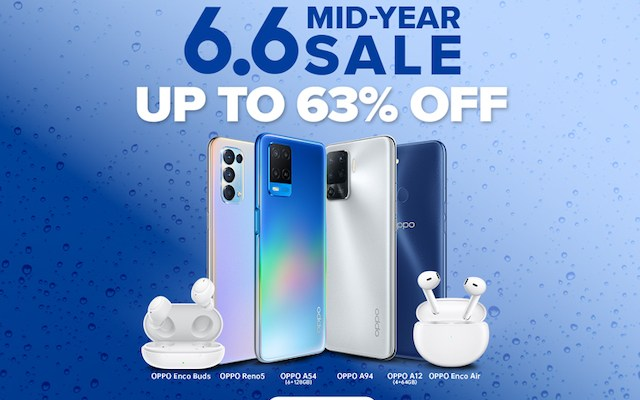 Oppo Shopee 6.6 Mid-year Sale