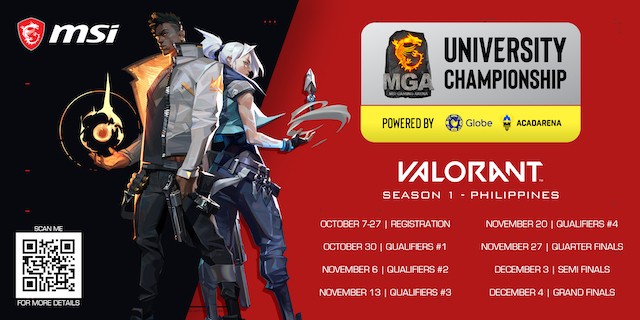 MSI MGA University Championship Valorant
