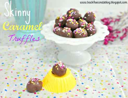 Skinny Caramel Truffles by Back For Seconds