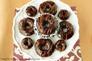 Salted Caramel Mocha Donuts