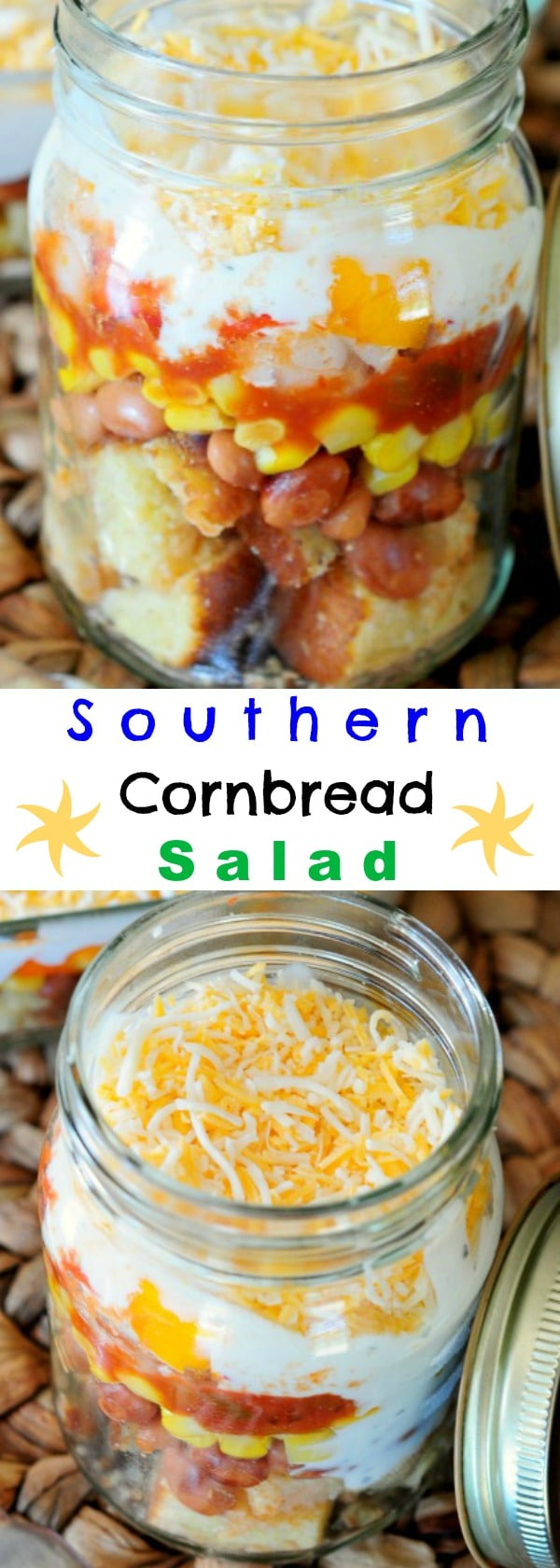 Incredible Southern Cornbread Salad - Everyone will BEG for the recipe!