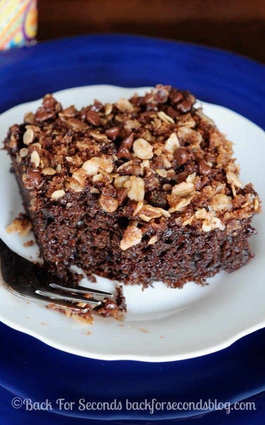 Chocolate Coffee Cake with Streusel Recipe