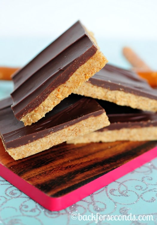 Easy No Bake Sweet and Salty Peanut Butter Cup Bars