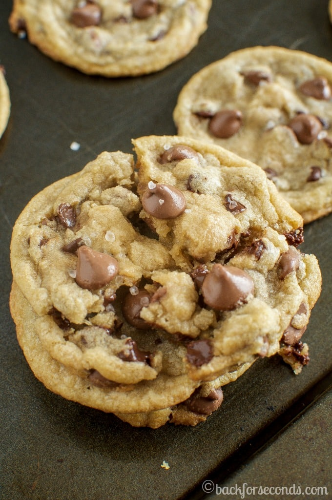 Chewy Milk Chocolate Sea Salt Cookies - Our New Favorite Cookie!