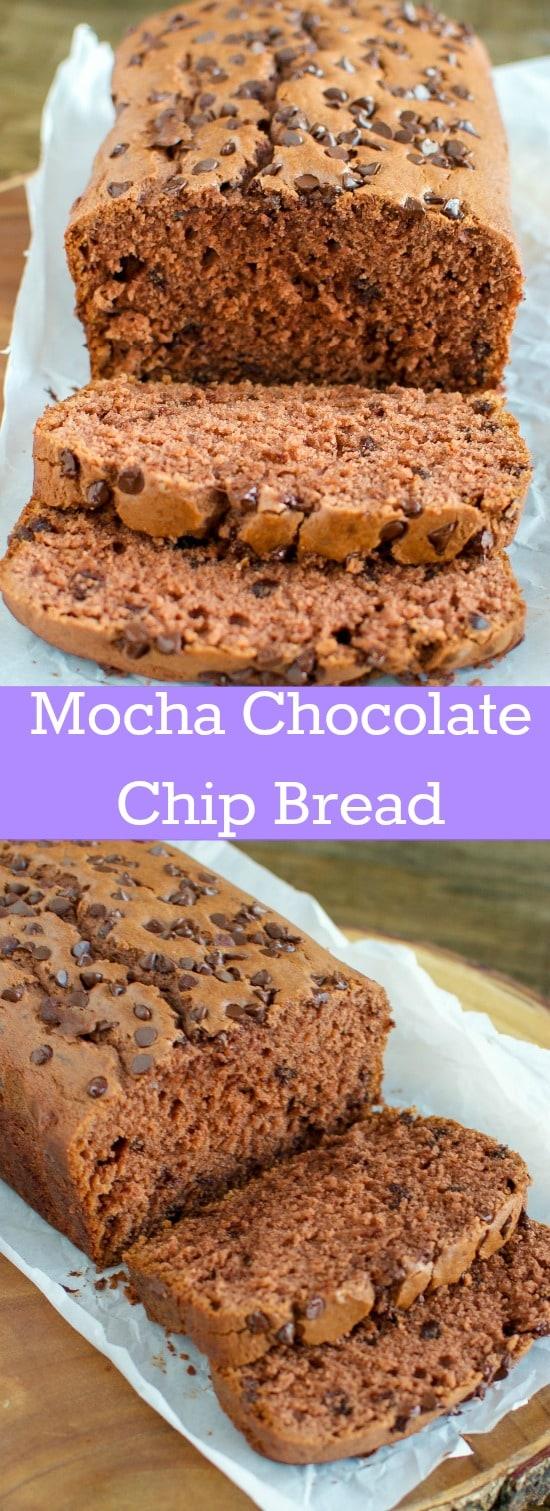 Mocha Chocolate Chip Bread