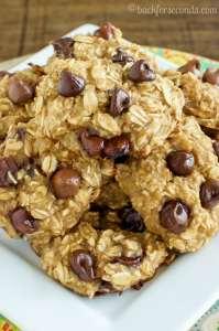 Healthy Chocolate Chip Breakfast Cookies