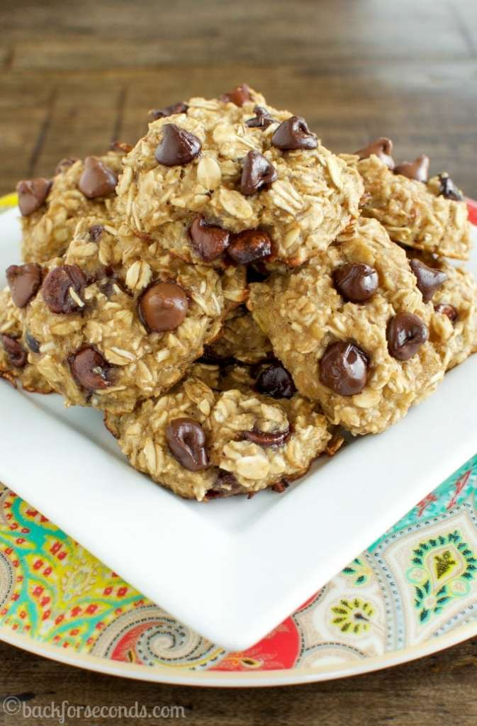 Delicious and Healthy Chocolate Chip Breakfast Cookies