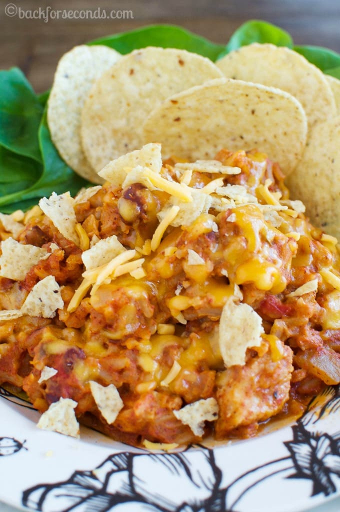 Cheesy Chicken Chili Made on the Stovetop!