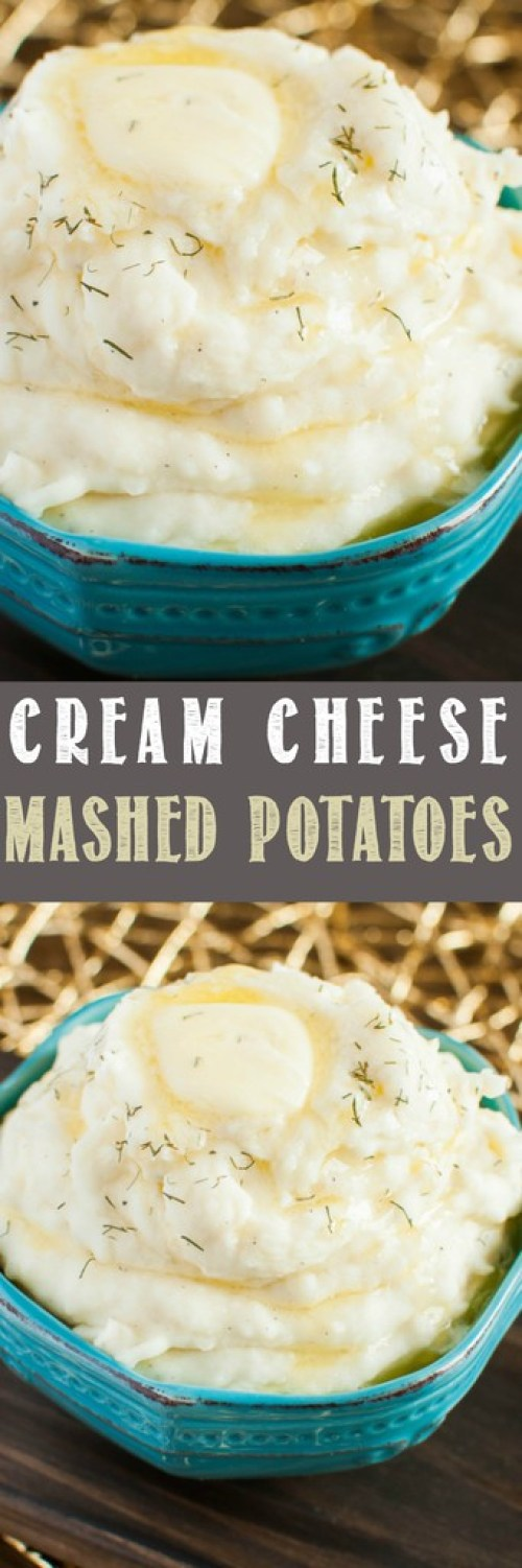 These Amazing Cream Cheese Mashed Potatoes make a wonderful holiday side dish that everyone will love, yet they're easy enough for any night of the week!
