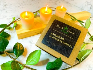 Jasmine Beeswax Votives