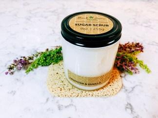 Lavender & Vanilla Sugar Scrub