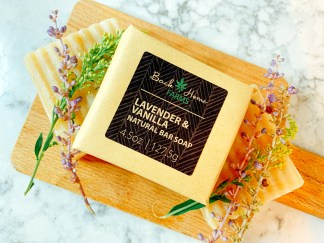 Lavender & Vanilla Natural Bar Soap