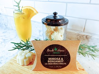 Mimosa & Bergamot Beeswax Melts