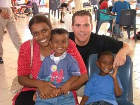 Serving in Fiji