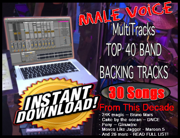 Buy Band Pre-Made Backing Tracks for Ableton Live 9 5 and up