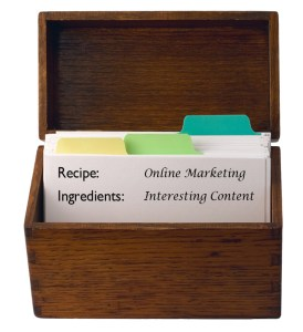 Online Marketing's Recipe for Success