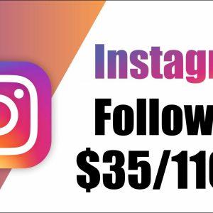 Instagram Followers 11000k $35