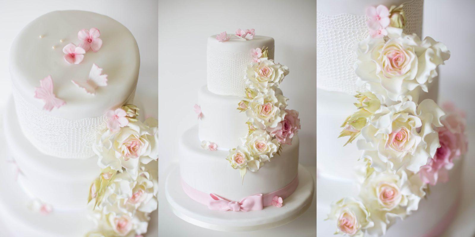 Tortendeko Hochzeit Blumen Zeppy Io